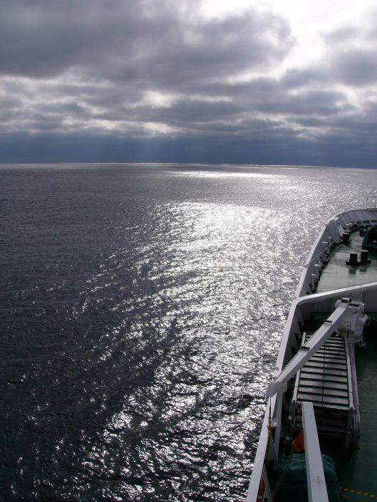 Maxim Gorkiy View Over Ocean