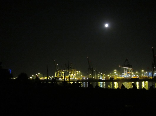 Cargo Loading Docks in Hamburg Germany