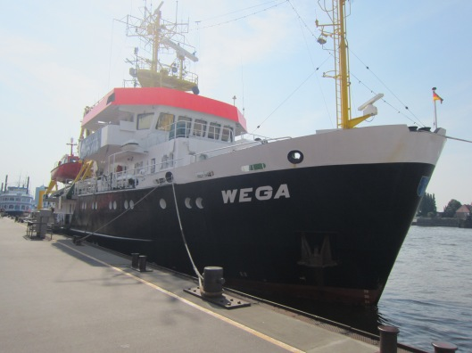 BSH Research Vessel Wega in Hamburg Germany