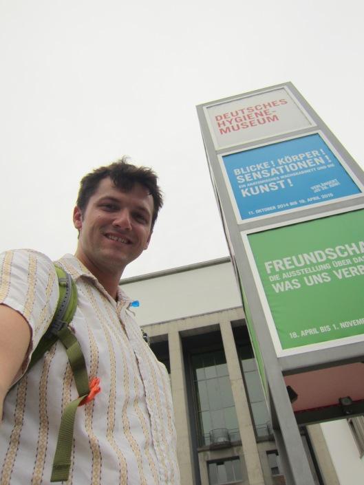 Clint at Deutsches Hygiene Museum