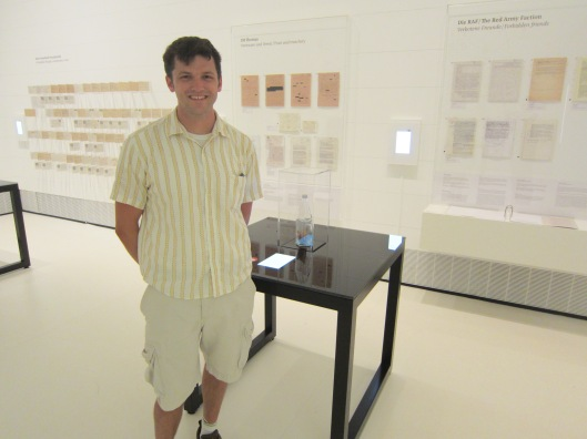 Me with Freeland Bottle at Deutsches Hygiene Museum