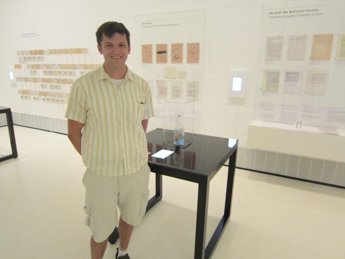 Me with Freeland Bottle at Deutsches Hygiene Museum