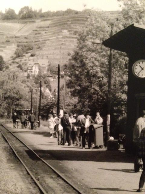 Coal Fired Wooden Train