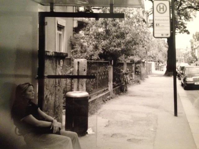 Ryan at Bus Stop