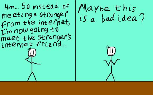 Meeting a Stranger's Internet Friend