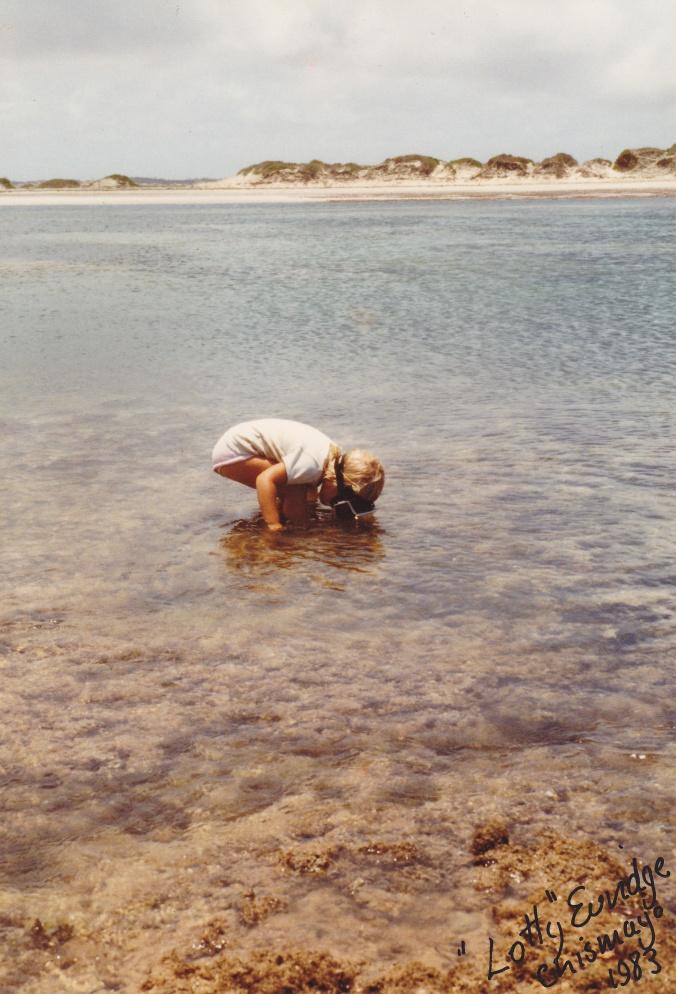 Sammie Euridge at Chismayo : Kismayo Port 1983