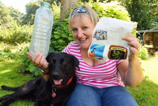 Molly the Lab and Kate Gabriel from edp24.co.uk.jpg