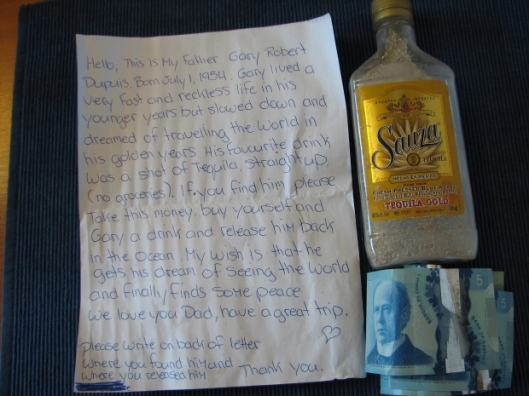 gary-robert-dupuis-message-in-a-bottle-from-cbc